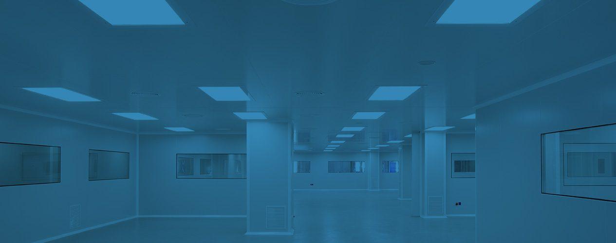 Développement complet de salles blanches